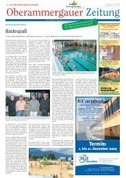 Oktober / November - Oberammergauer Zeitung