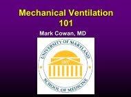 Mechanical Ventilation 101