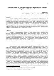 Fichier séminaire européen - Centre d'Etudes Canadiennes d ...