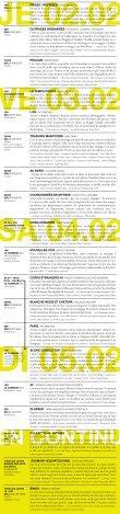 Télécharger le programme (pdf) - Théâtre du Grütli - Page 2