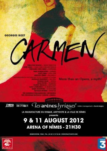 9 & 11 august 2012 - Nîmes