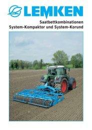 LEMKEN System-Kompaktor und System-Korund