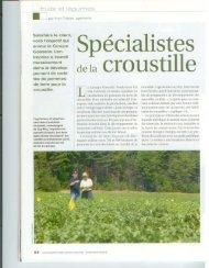 Spécialistes de la croustille - Groupe Gosselin