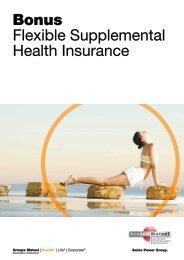 Booklet Bonus - PDF - Groupe Mutuel