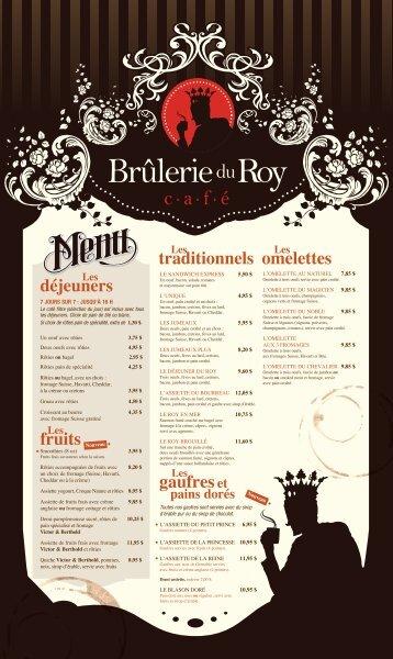 gaufres - Brûlerie du Roy