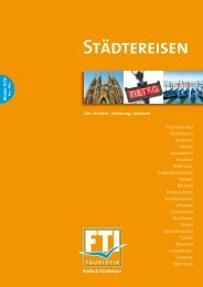 FTI - Städtereisen - Winter 2011/2012 - Letenky.sk
