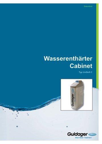 Wasserenthärter Cabinet - Guldager (Schweiz)
