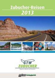 Zubucher-Reisen 2013 - Grimm Touristik