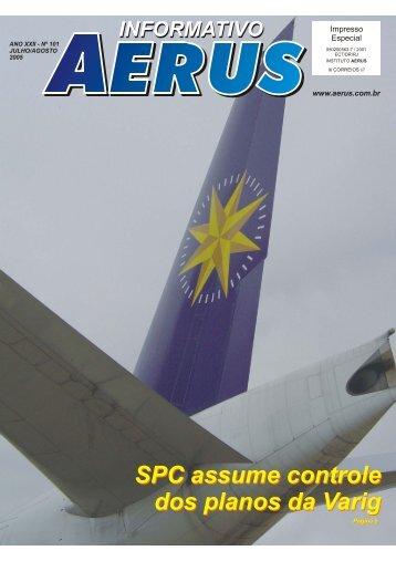 SPC assume controle dos planos da Varig SPC assume controle ...