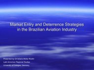 Market Entry and Deterrence Strategies in the Brazilian Aviation ...