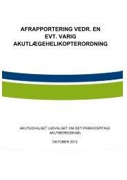Læs Akutudvalgets afrapportering om en varig ...