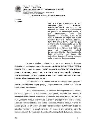 01553001420085010036#18-0 - Tribunal Regional do Trabalho da ...
