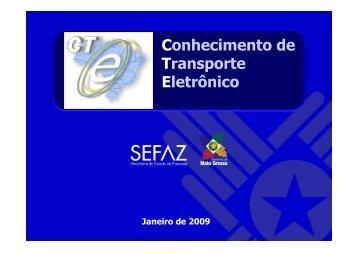Conhecimento de Transporte Eletrônico - Carvalima Transportes