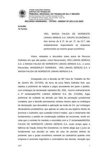 00005479720115010035#14-0 - Tribunal Regional do Trabalho da ...