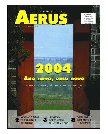 Informativo nº 92 - Instituto AERUS de Seguridade Social