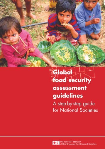 Global food security assessment guidelines - IFRC