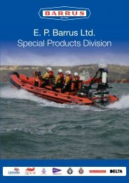 E. P. Barrus Ltd. Special Products Division - Military Systems ...