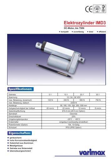 Elektrozylinder IMD3 - Varimax AG