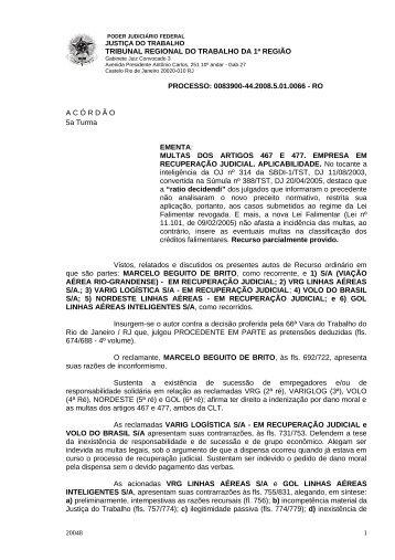 00839004420085010066#19-0 - Tribunal Regional do Trabalho da ...