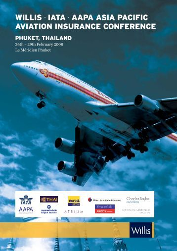 willis ∙ iata ∙ aapa asia pacific aviation insurance conference