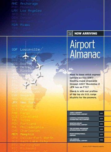 Airport Almanac - Inbound Logistics