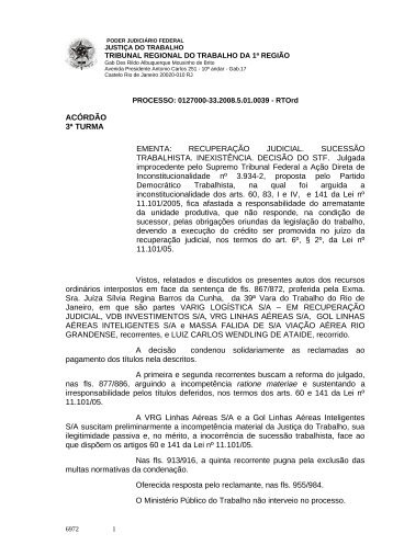 01270003320085010039#18-0 - Tribunal Regional do Trabalho da ...