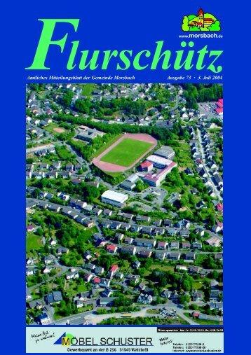 73. Ausgabe vom 03.07.2004 - Gemeinde Morsbach