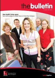 New Health Centre opens - University of the West of England