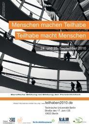 Menschen machen Teilhabe Teilhabe macht Menschen - teilhaben.de