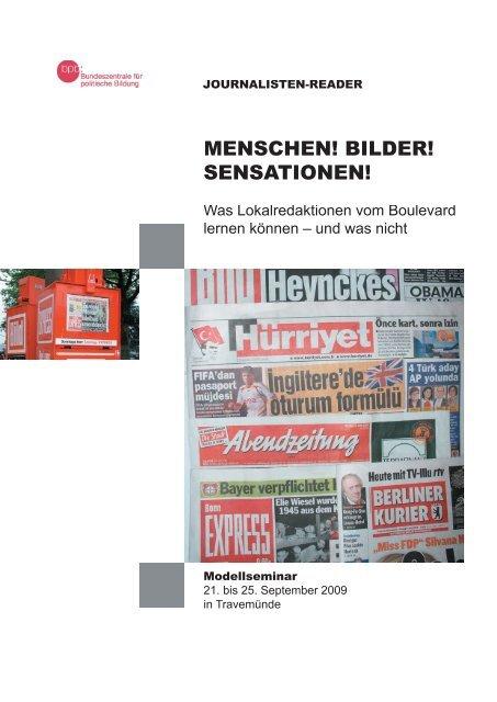 MENSCHEN! BILDER! SENSATIONEN! - Drehscheibe