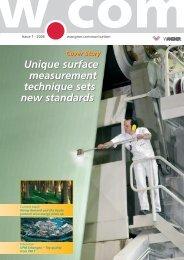 Issue 1 · 2006 Wangner.communication - Xerium Technologies, Inc.