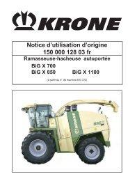Notice d'utilisation d'origine 150 000 128 03 fr