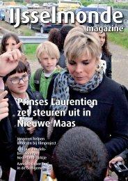 Prinses Laurentien zet steuren uit in Nieuwe Maas - IJsselmonde ...