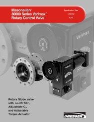 Masoneilan® 30000 Series Varimax™ Rotary Control Valve - Ar-Pol