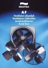 Ventilatori elicoidali Ventilateurs hélicoïdes Axialventilatoren Axial ...
