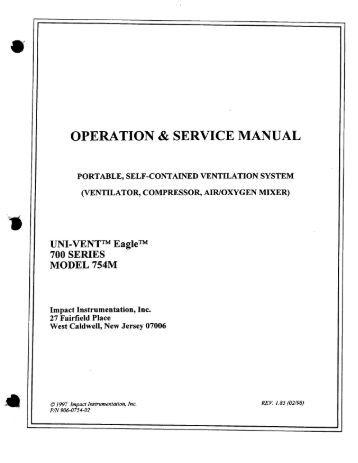 7900 ventilator service Manual