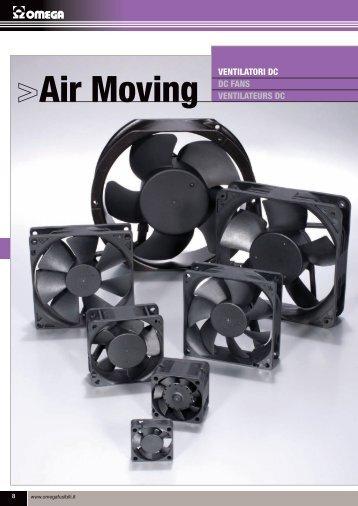 Ventilatori DC - OMEGA FUSIBILI