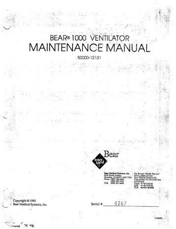 vela ventilator user manual ebook