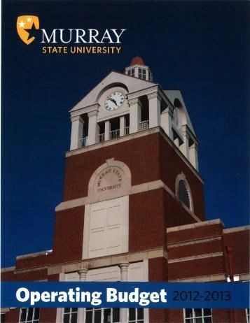 MSU-Operating-Budget-2012-2013-2