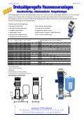Drehzahlgeregelte Hauswasseranlagen Seite 2 Konstanter Druck ... - Page 2
