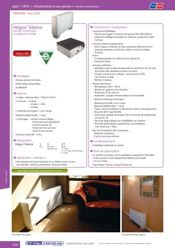 Page catalogue - France Air