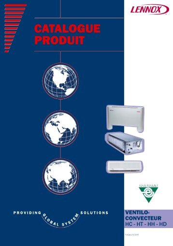 CATALOGUE PRODUIT - Lennox