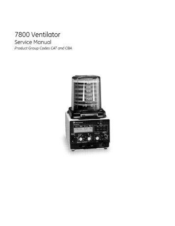 Ventilator Service Manual