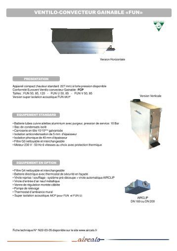 ventilo convecteur type cassette hydraulique walter meier. Black Bedroom Furniture Sets. Home Design Ideas