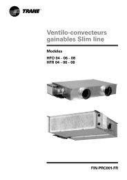 Ventilo-convecteurs gainables Slim line - Document sans nom