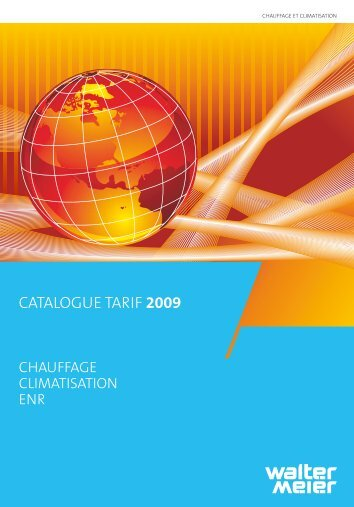 CATALOGUE TARIF 2009 - Walter Meier