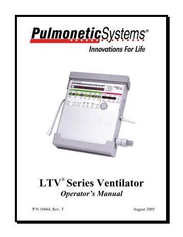 Bear 7200 Manual Ventilator