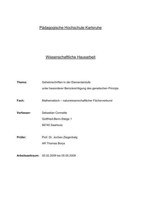 Kryptografie in Theorie und Praxis
