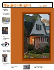 Fall - Stoneleigh Community Website