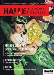 mit bus und bahn ins sommervergnügen - Hallesche Verkehrs-AG